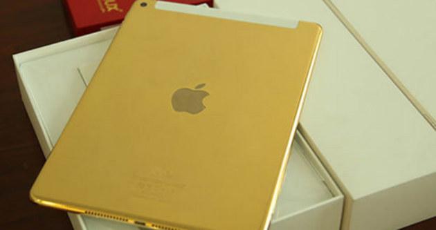 iPad'i altınla kapladılar