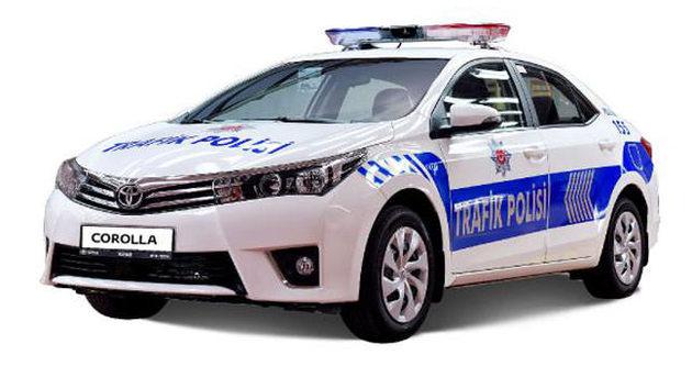 Otoyol polisi 'Corolla' kullanacak
