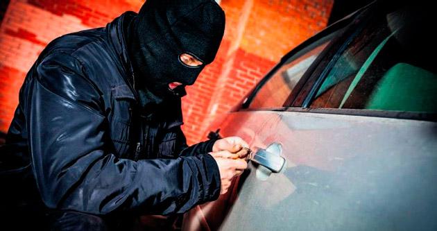 Kadrolu otomobil hırsızları
