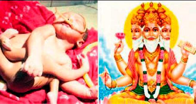 'Brahma' bebeğe ziyaretçi akını