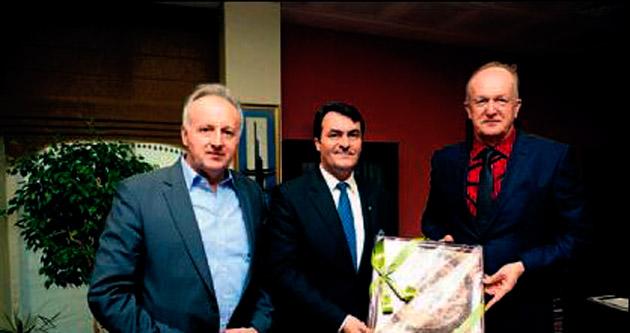 Bosna'dan selde uzanan yardım eline teşekkür ziyareti