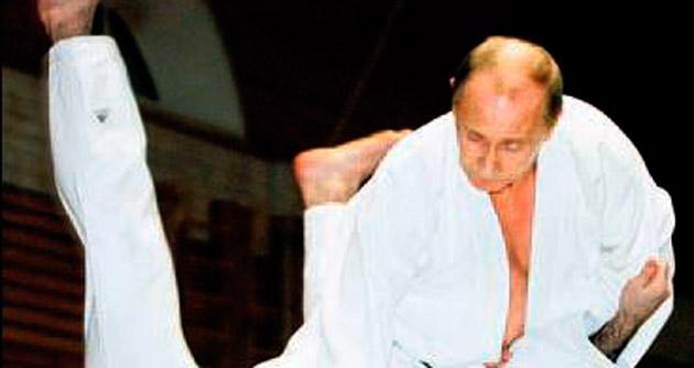 Putin karatede derece atladı