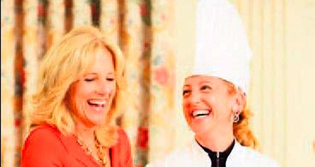 Beyaz Saray'ın ilk kadın pasta şefi