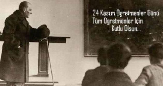 24 Kasım Öğretmenler Günü öğretmenleri
