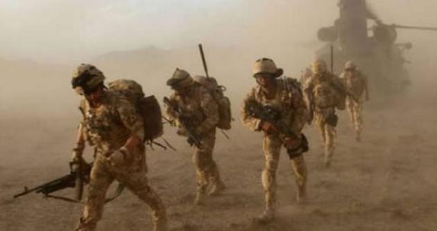İngilizler IŞİD'i karadan vuruyor