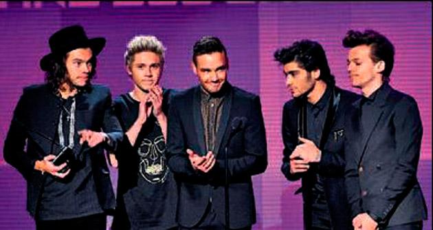 'One Direction' için büyük gece