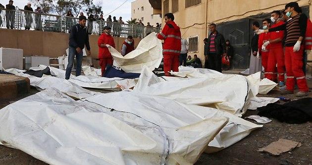Rakka'da sivillere hava saldırısı