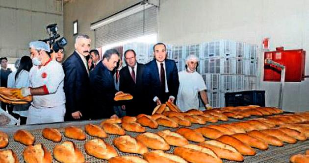 Başkan Sözlü'den ekmek denetimi