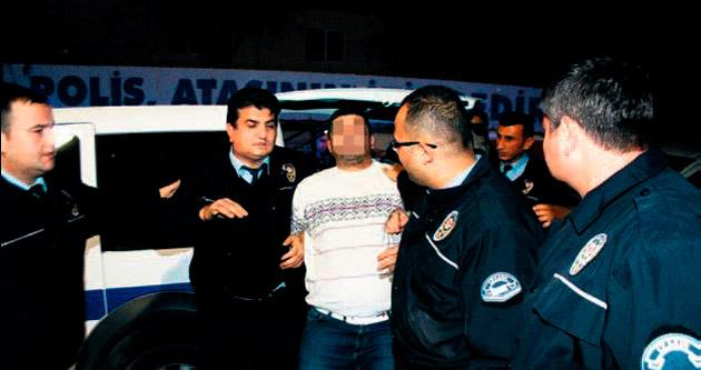 Polisten kaçan zanlı ortalığı birbirine kattı