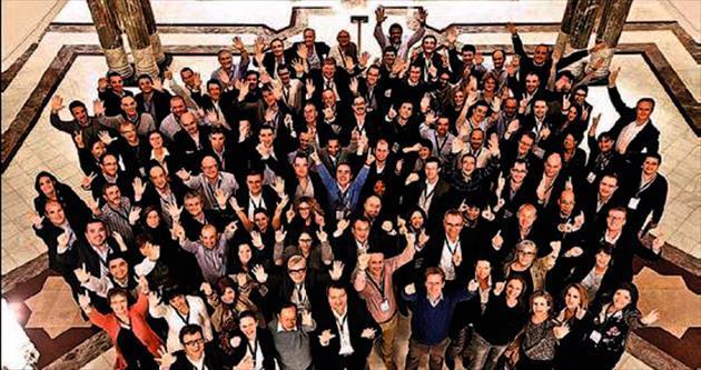 Groupama'nın üst düzey yöneticileri İstanbul'da