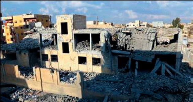 Rejim jetleri Rakka'yı vurdu