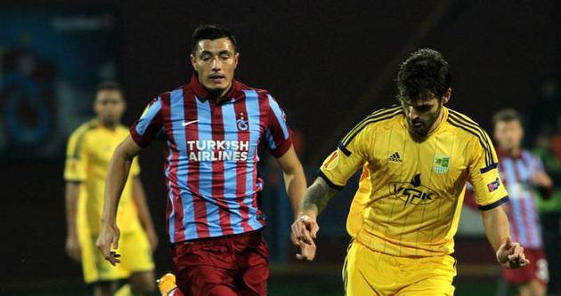 Trabzonspor Avrupa'da yola devam