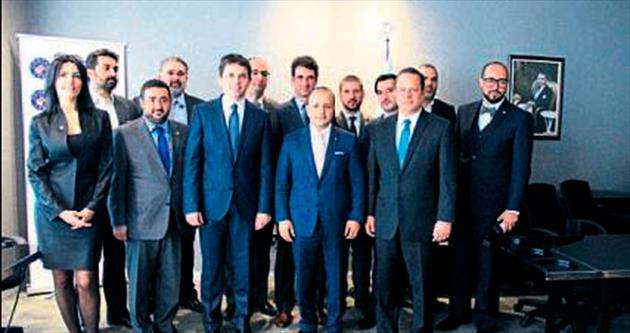 TÜGİAD, Makedon bakanları ağırladı