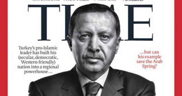 Time'ın listesindeki tek Türk Erdoğan