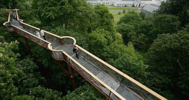 Kraliyet parkını bir Türk düzenliyor