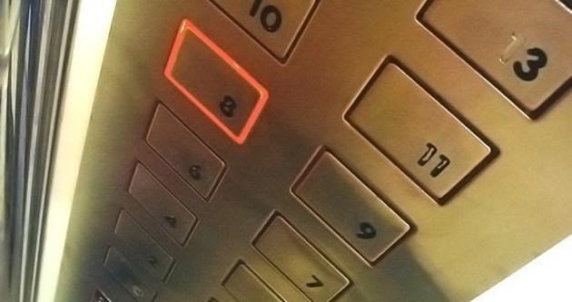 Uşak'ta asansör kazası 1 ölü
