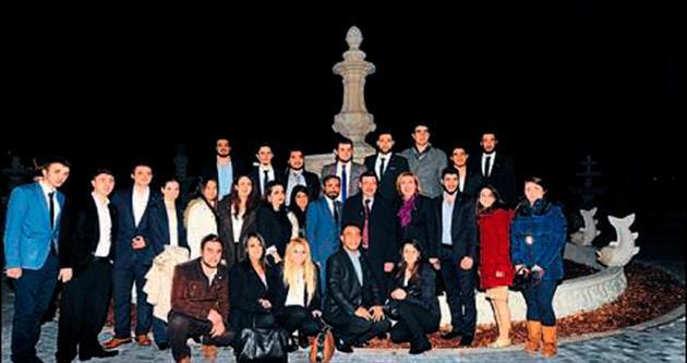 Üniversiteliler Ankapark'ı gezdi