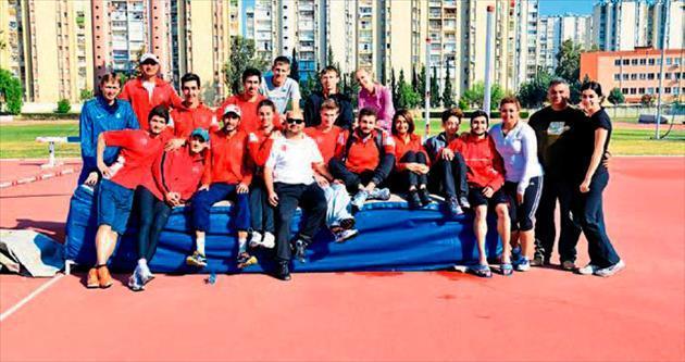 Atlamalar Milli Takımı Adana'da