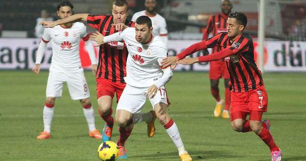 Galatasaray'dan tek gollü galibiyet