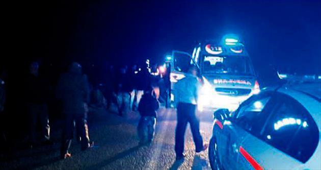 Manisa'da otobüs takla attı