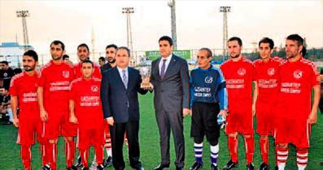 Gaziantep'te dostluk maçı heyecanı