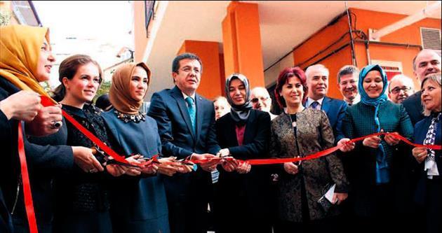Sümeyye Erdoğan KADEM şubesini açtı