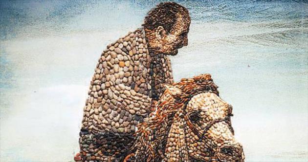 Çakıl taşlarına adanmış bir ömür