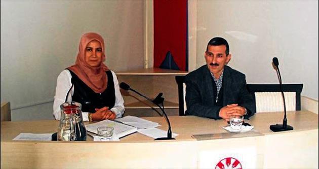 Yazar Zehra Yücel TYB'de konuştu