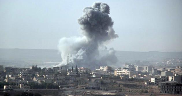 ABD uçakları IŞİD'in kalesini vurdu