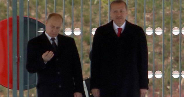 Putin fena yakalandı!