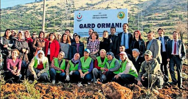 GARD Ormanı kuruluyor