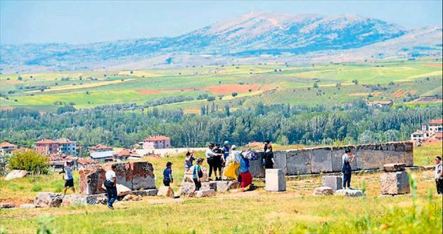 İnanç turizminde yeni rota Pisidia Antiocheia