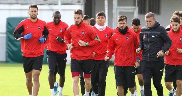Trabzonspor'da kupa mesaisi