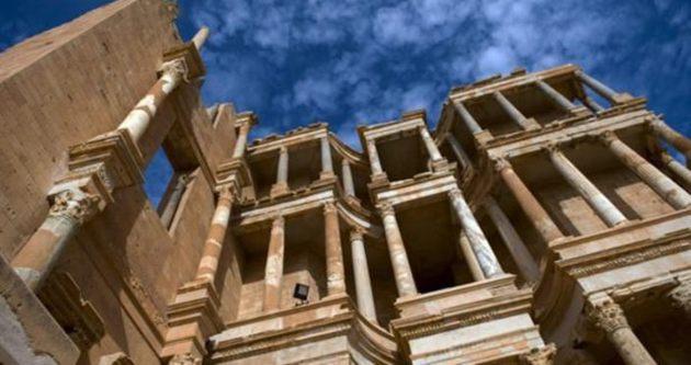 Libya'nın Sabratha antik kenti