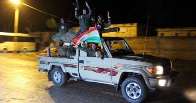İkinci Peşmerge grubu Suriye'ye geçti!