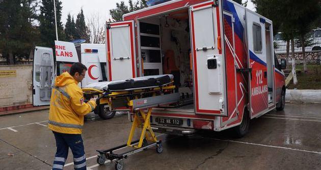 Obez ambulansıyla uluslararası hizmet