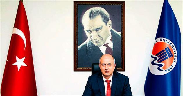 MEÜ Rektörü Prof. Dr. Çamsarı göreve başladı