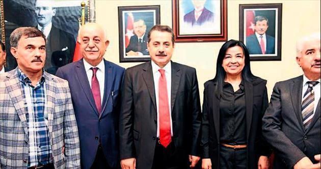 Çalışma Bakanı Faruk Çelik: İskenderun'un hep yanındayız