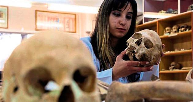 Kemik koleksiyonu bilim insanlarının uğrak yeri