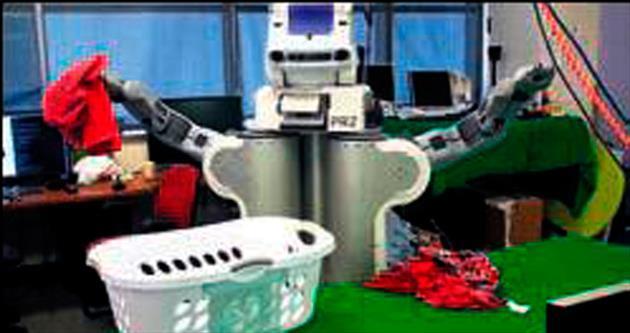 Çamaşırcı robot