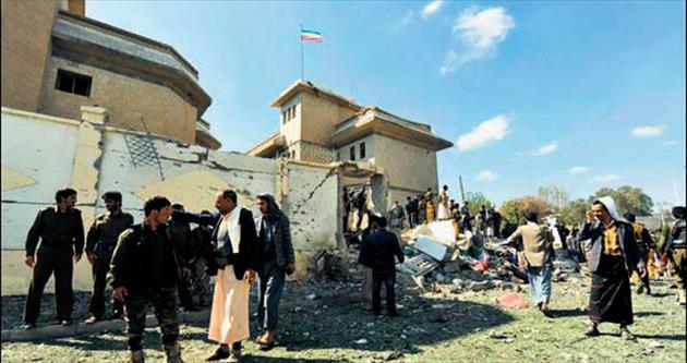 İran Büyükelçisi'ne saldırı