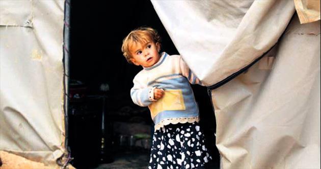 Suriyeli mülteciler için yardım kampanyası