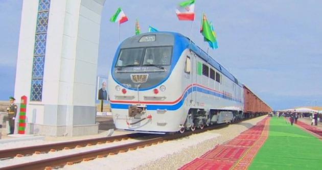 İran-Türkmenistan-Kazakistan demiryolu hizmete girdi