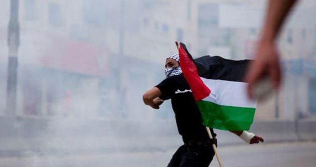 Filistin'in dramı sahnede