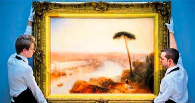 Turner'ın tablosuna 47 milyon dolar