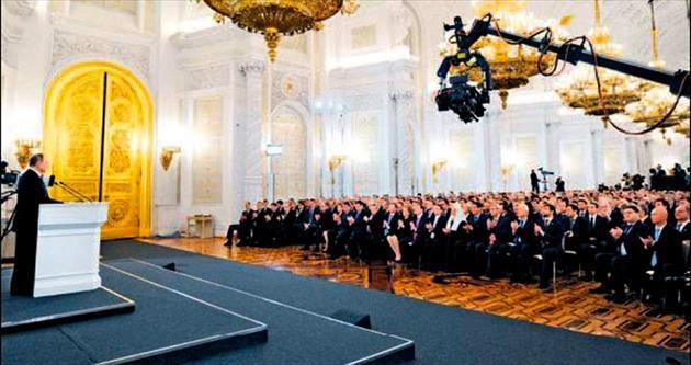 Putin: Ruslar için Kırım kutsaldır