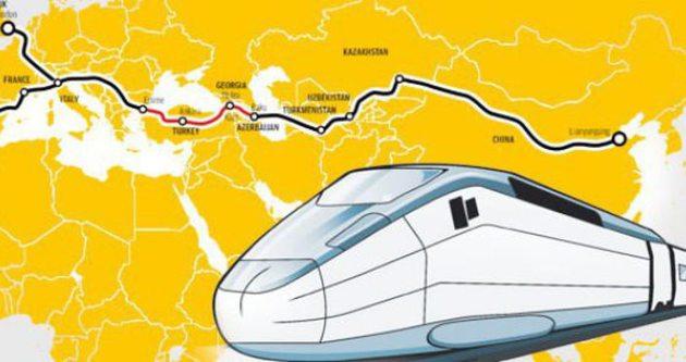 Marmaray Çin ile Londra'yı da birbirine bağlayacak!