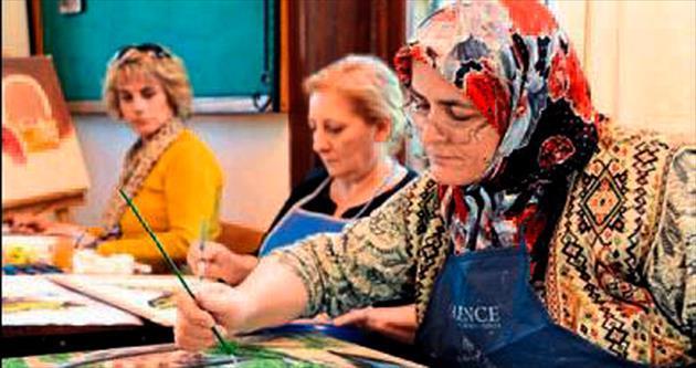 Muratpaşa'da hobi kursları