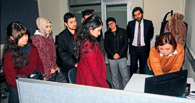 Gazeteci adayları bilgilendirildi