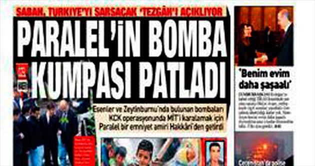 Paralel'in bomba kumpasına soruşturma